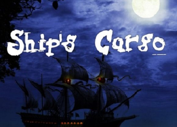 Print on Demand: Ship's Cargo Decorative Font By Shelley
