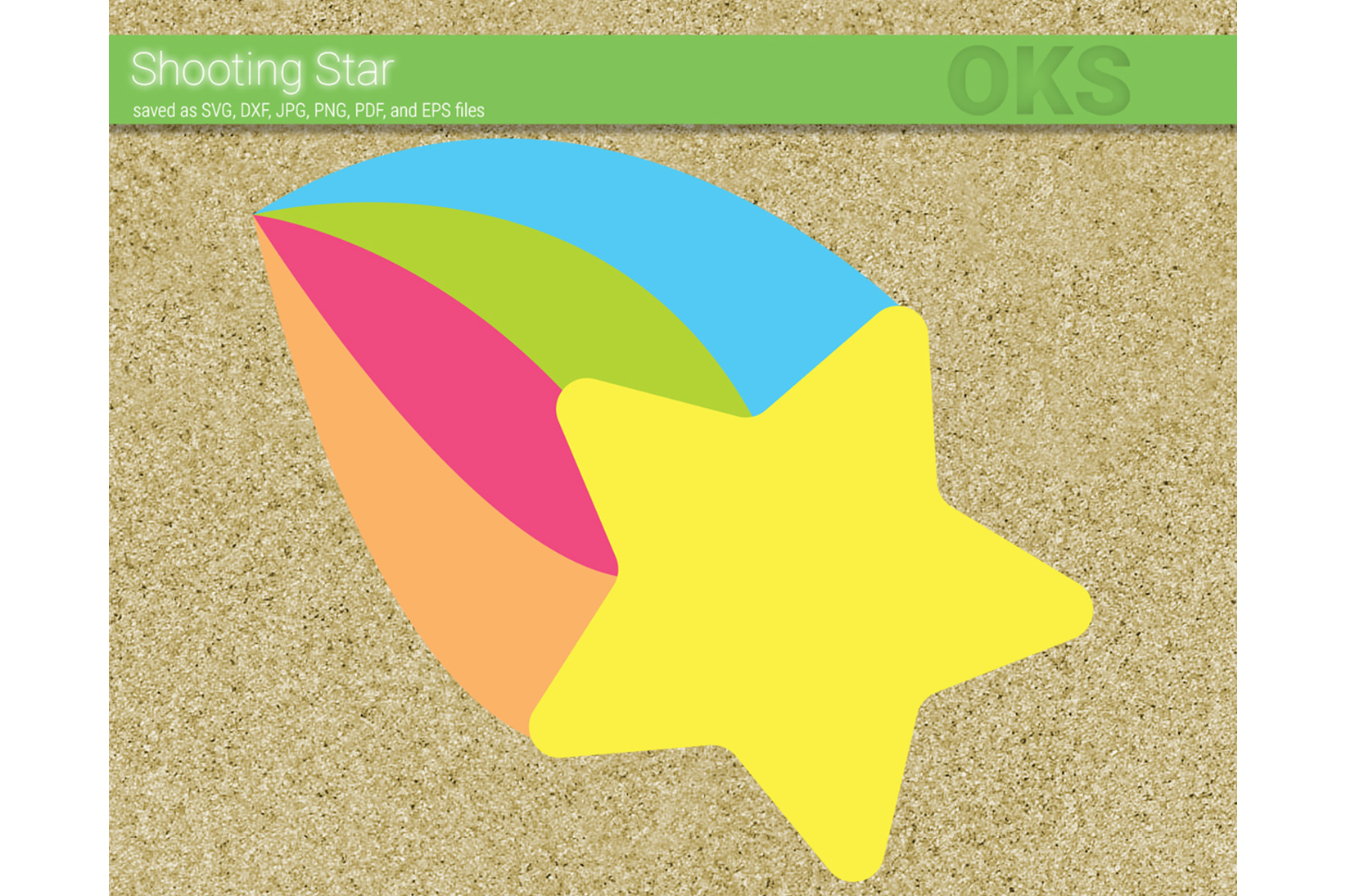 Download Free Shooting Star Svg Vector Graphic By Crafteroks Creative Fabrica SVG Cut Files