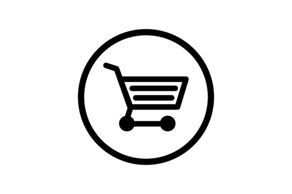 Download Free Shop Cart Icon Graphic By Zafreeloicon Creative Fabrica for Cricut Explore, Silhouette and other cutting machines.