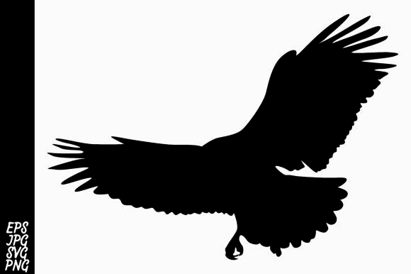 Download Free Silhouette Eagle Vector Graphic By Arief Sapta Adjie Creative for Cricut Explore, Silhouette and other cutting machines.