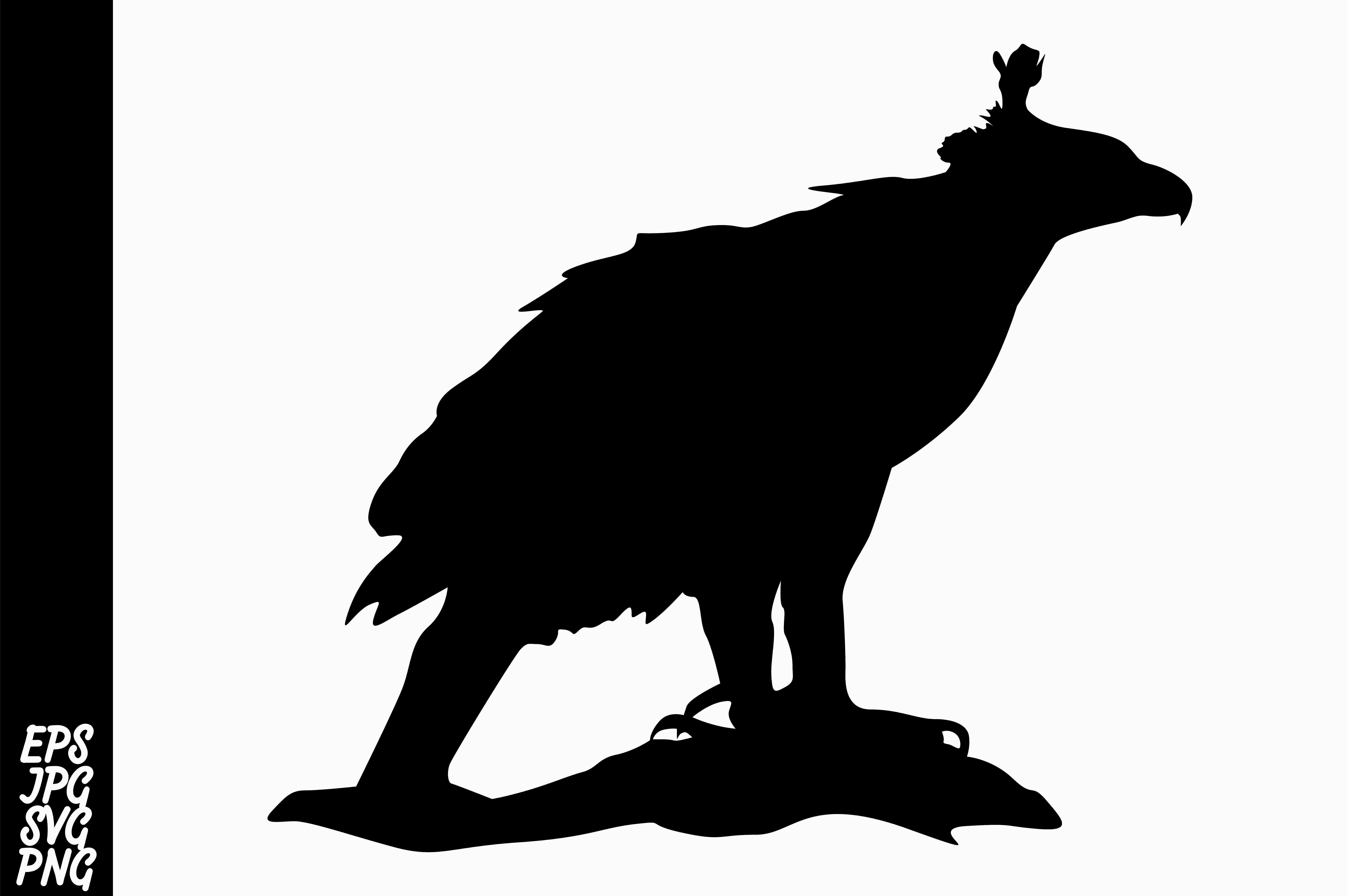 Download Free Silhouette Eagle Vector Graphic By Arief Sapta Adjie Ii for Cricut Explore, Silhouette and other cutting machines.