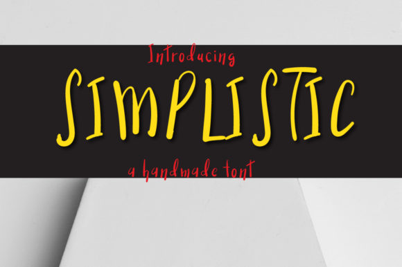 Print on Demand: Simplistic Display Font By Autumn Designs