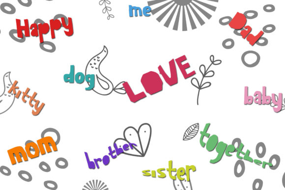 Skit Cut Font By dmletter31 Image 2