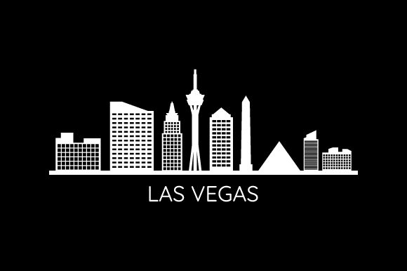 Download Free Skyline Las Vegas Graphic By Marco Livolsi2014 Creative Fabrica SVG Cut Files