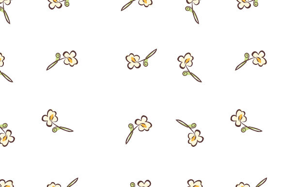 Print on Demand: Small Floral Tulips Pattern Graphic Patterns By iop_micro