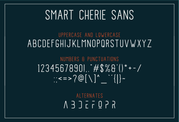 Print on Demand: Smart Cherie Duo Script & Handwritten Font By pandanwangi - Image 6