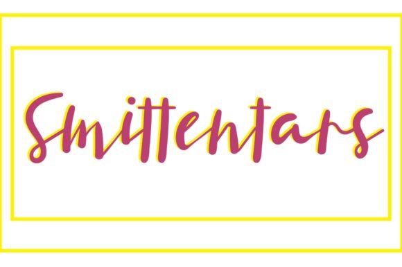 Print on Demand: Smittentars Display Font By Autumn Designs