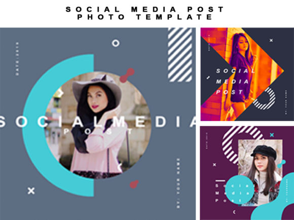 Social Media Post Photo Template Graphic By Ahmad Bahauddin