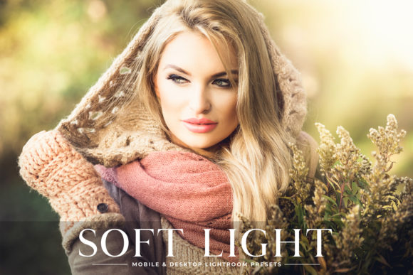 Print on Demand: Soft Light Lightroom Presets Pack Graphic Actions & Presets By Creative Tacos