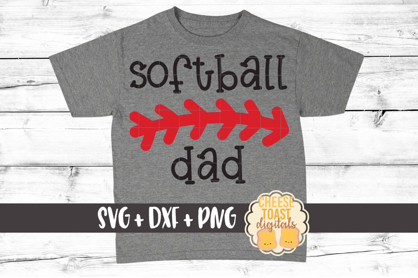 Download Free Softball Dad Graphic By Cheesetoastdigitals Creative Fabrica for Cricut Explore, Silhouette and other cutting machines.