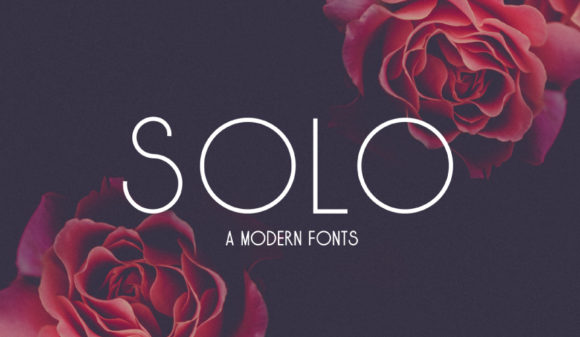 Print on Demand: Solo Sans Serif Font By sandrifaqih