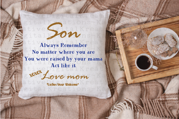 Download Free Funny Son Gift Graphic By Kayla Griffin Creative Fabrica for Cricut Explore, Silhouette and other cutting machines.