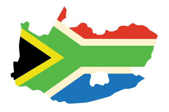 Download Free South African Country Outline With Flag Svg Cut File By Creative for Cricut Explore, Silhouette and other cutting machines.