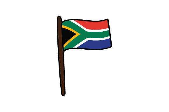 South African Flag South Africa Craft Cut File By Creative Fabrica Crafts