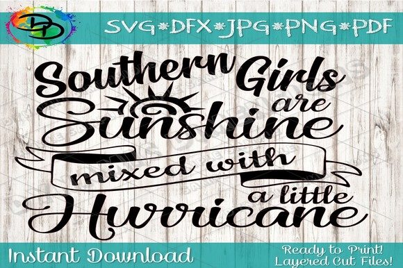 Southern Girl SVG Graphic Crafts By dynamicdimensions
