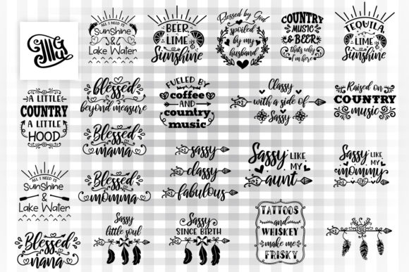 Southern and Country Graphic By Illustrator Guru