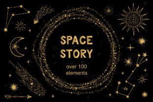 Space Story Graphic By anatartan