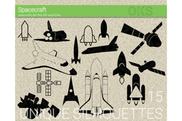 Print on Demand: Spacecraft Vector Graphic Crafts By CrafterOks