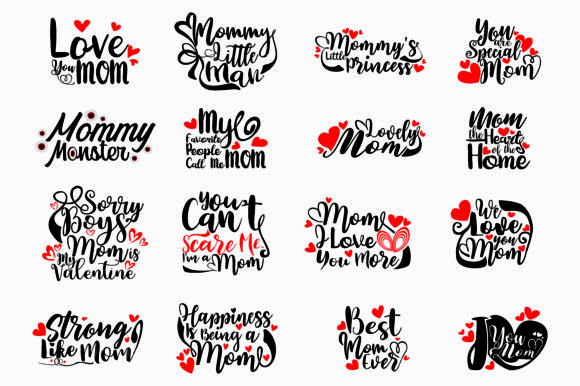 Print on Demand: Special Mom SVG Bundle Graphic Crafts By Arief Sapta Adjie