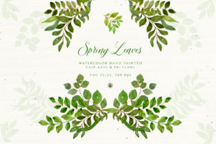 Spring Leaves Graphic By webvilla