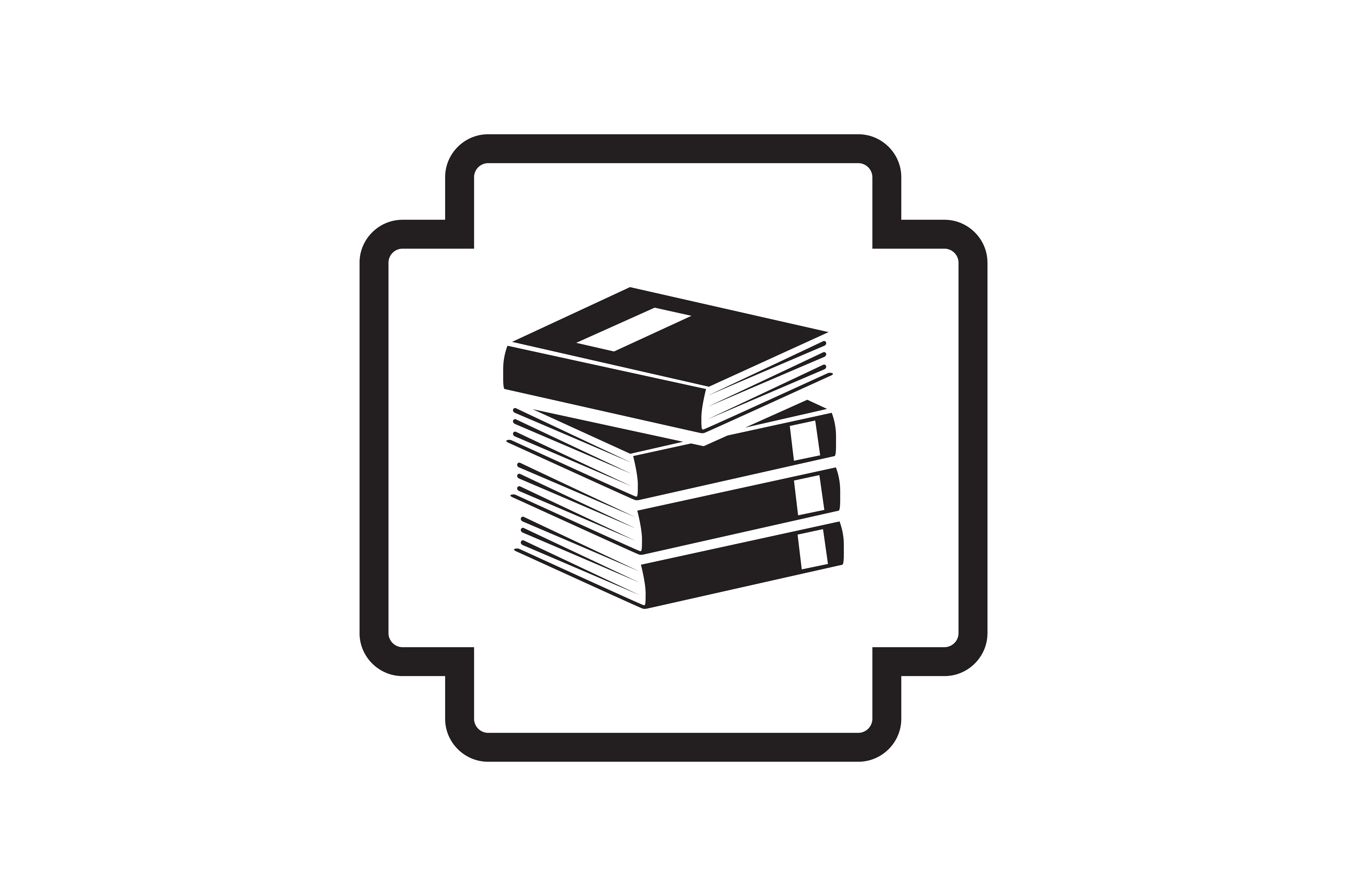 Download Free Stackbook Icon Graphic By Zafreeloicon Creative Fabrica for Cricut Explore, Silhouette and other cutting machines.