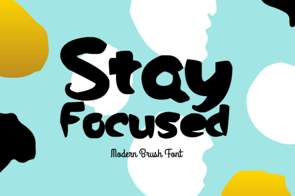 Print on Demand: Stay Focused Display Fuente Por FontCove