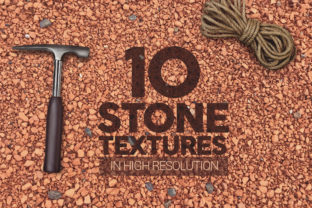 Print on Demand: Stone Textures X10 Graphic Textures By SmartDesigns