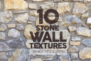 Print on Demand: Stone Wall Textures X10 Graphic Textures By SmartDesigns