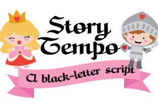 Story Tempo Font By Illustration Ink
