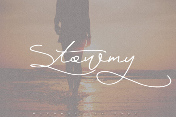 Print on Demand: Stowmy Script & Handwritten Font By Katie Holland