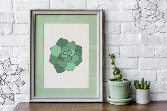 Print on Demand: Succulents Vector Set Graphic Illustrations By MyStocks - Image 6