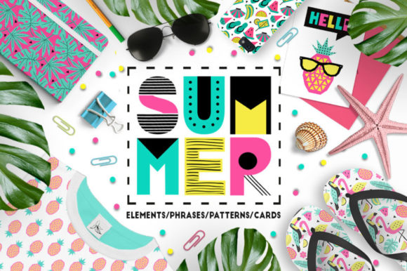 Summer Graphic Collection Graphic Illustrations By ekaterinakiriy