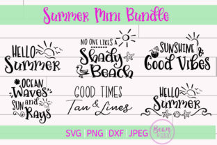 Summer Mini Bundle Summer Cut File Graphic By Jessica Maike