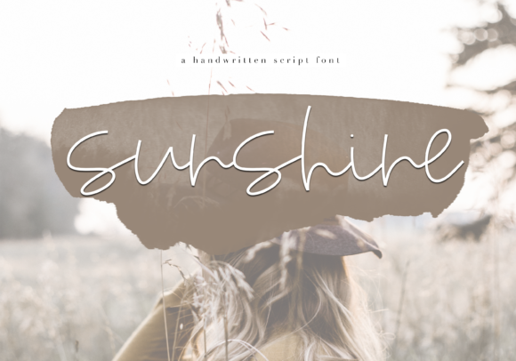 Print on Demand: Sunshine Script & Handwritten Font By KA Designs