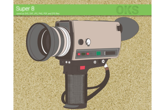 Download Free Super 8 Camera Svg Vector Grafico Por Crafteroks Creative Fabrica for Cricut Explore, Silhouette and other cutting machines.