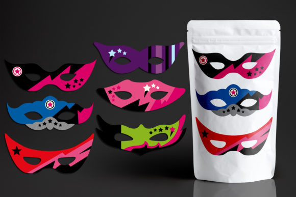 Download Free Superhero Masks For Girls Graphic By Revidevi Creative Fabrica for Cricut Explore, Silhouette and other cutting machines.