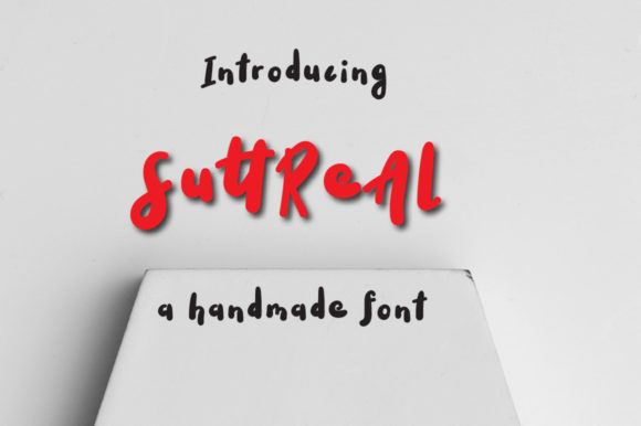 Print on Demand: Suttreal Display Font By Autumn Designs