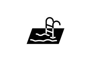 Download Free Swimming Pool Icon Graphic By Hellopixelzstudio Creative Fabrica for Cricut Explore, Silhouette and other cutting machines.