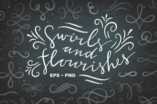Swirls and Flourishes Graphic Illustrations By redchocolate