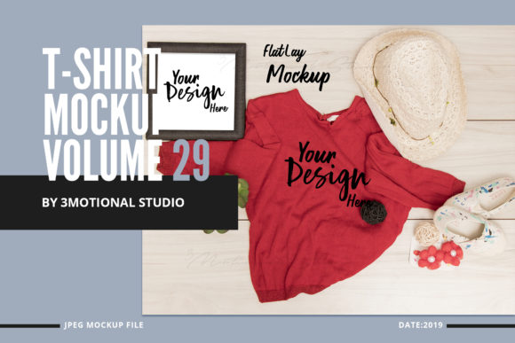T-Shirt Mockup Volume 29 Graphic By 3Motional