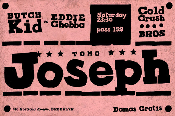 Print on Demand: TOMO Joseph Slab Serif Font By TOMO Fonts