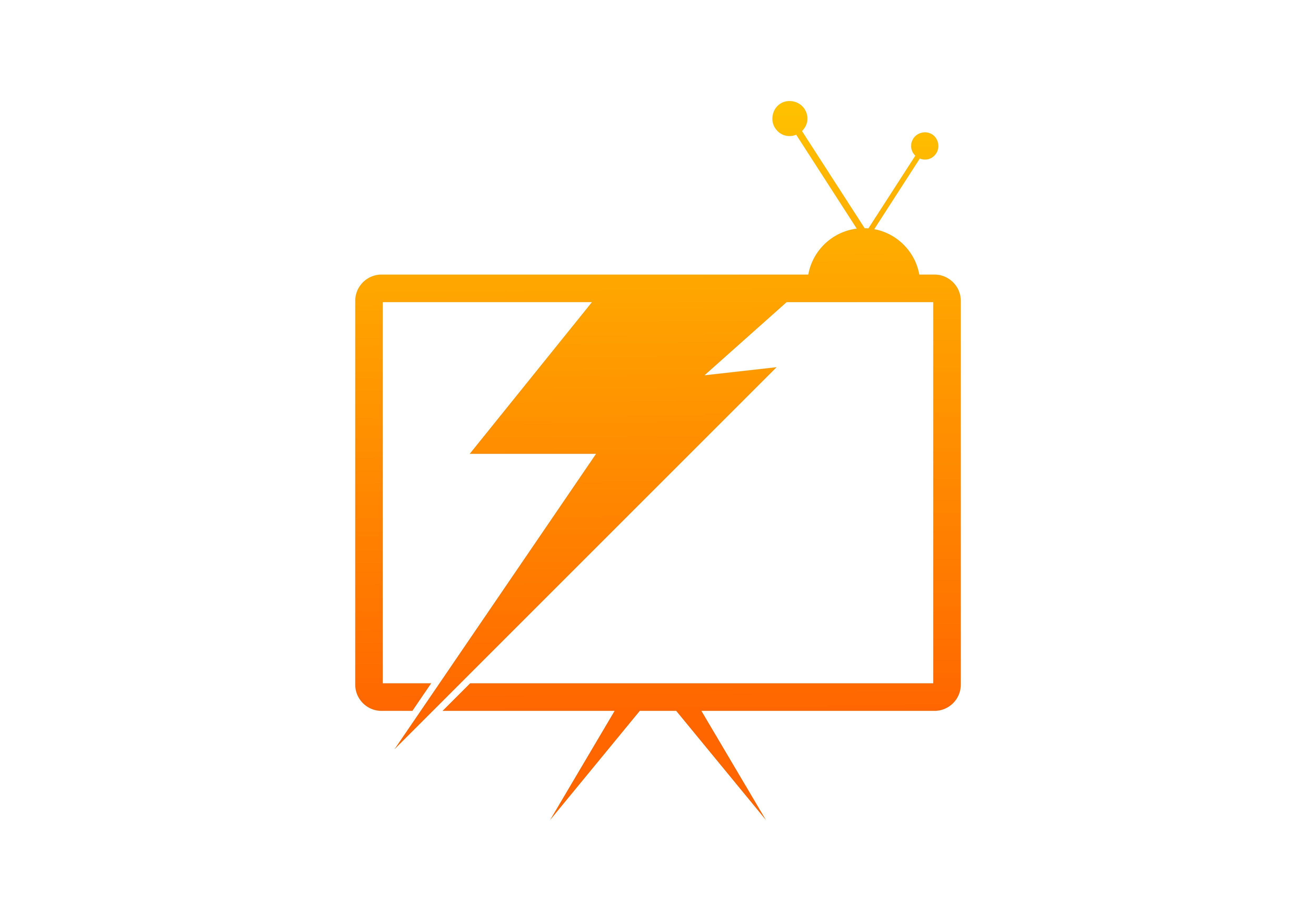 Download Free Tv Electrical Power Concept Logo Graphic By Deemka Studio for Cricut Explore, Silhouette and other cutting machines.