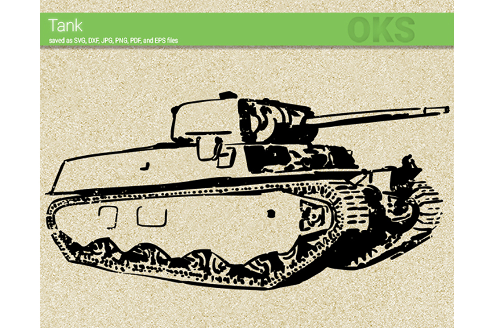 Download Free Tank Svg Vector Graphic By Crafteroks Creative Fabrica for Cricut Explore, Silhouette and other cutting machines.
