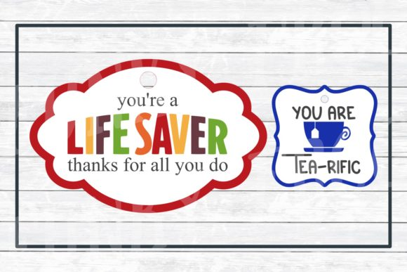Teacher Appreciation Gift Tags Graphic Crafts By funkyfrogcreativedesigns - Image 4