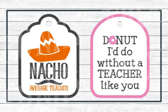 Teacher Appreciation Gift Tags Graphic Crafts By funkyfrogcreativedesigns - Image 5