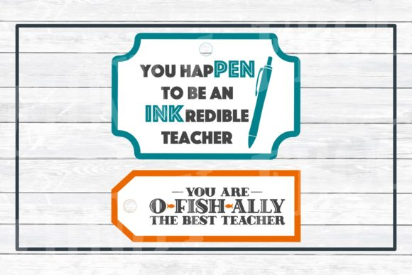 Teacher Appreciation Gift Tags Graphic Crafts By funkyfrogcreativedesigns - Image 6
