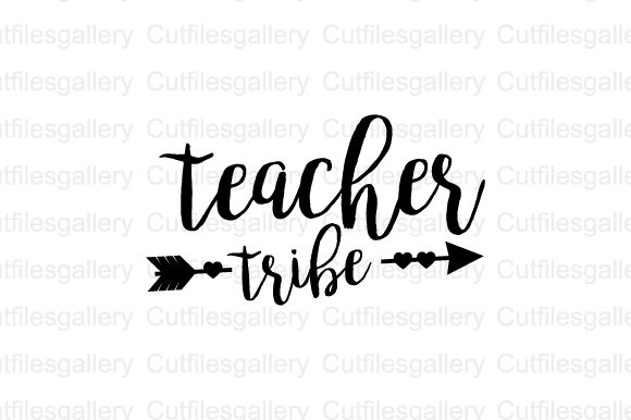 Download Free Teacher Tribe Svg Graphic By Cutfilesgallery Creative Fabrica for Cricut Explore, Silhouette and other cutting machines.