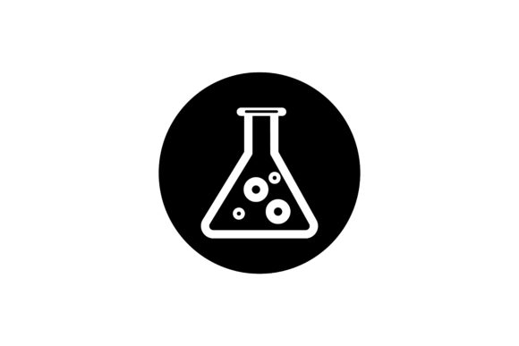 Download Free Test Tube Icon Graphic By Techno Aroma Creative Fabrica for Cricut Explore, Silhouette and other cutting machines.
