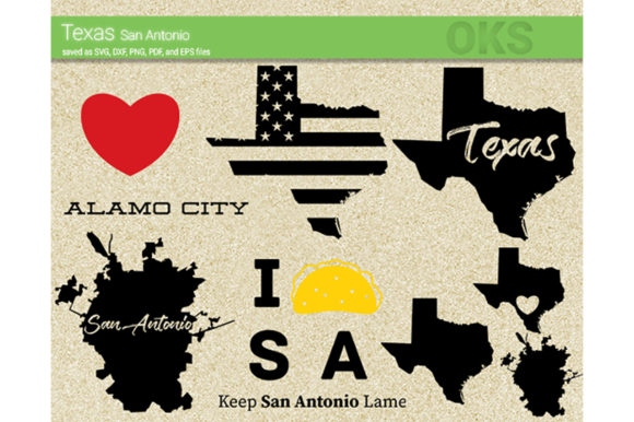 Download Free Texas San Antonio Svg Vector Graphic By Crafteroks Creative for Cricut Explore, Silhouette and other cutting machines.
