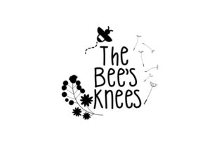 The Bee's Knees UK Designs Craft Cut File By Creative Fabrica Crafts